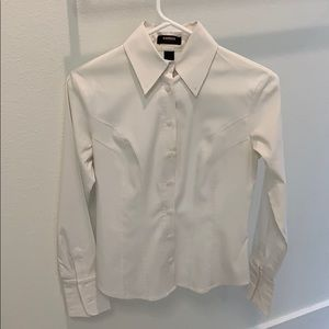 Express Stretch Women's button down blouse